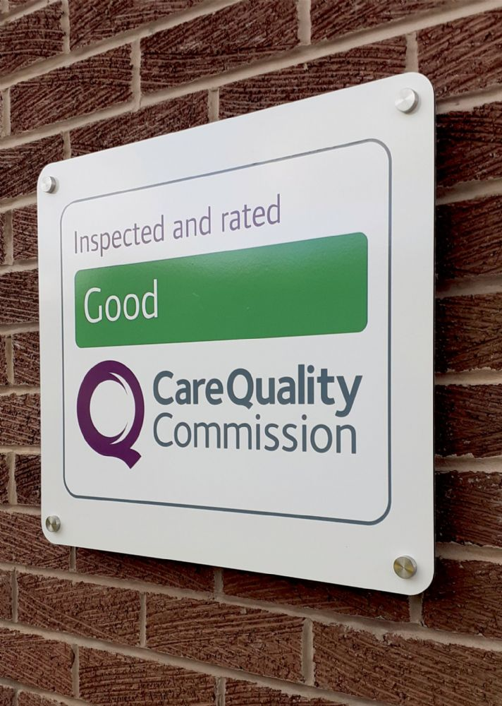 CQC Good Wall sign